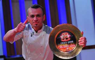 """Cristi Șerb (câștigătorul Chefi la cuțite): """"Bucătarul este asemeni unui pictor care îți realizează tabloul"""""""