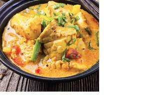 Curry de pește