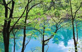 Lacul Albastru din Baia Sprie, unicat în Europa