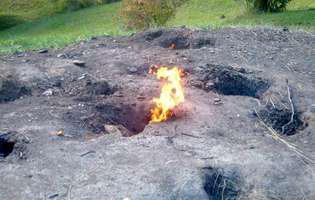 Focul Viu din Lopătari, un fenomen al naturii