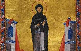 Calendar ortodox: Sfânta Cuvioasă Eufrosina e sărbătorită în toată lumea