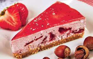 tartă cu căpșune