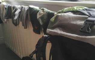 Uscatul hainelor în casă, un obicei nociv pentru sănătate