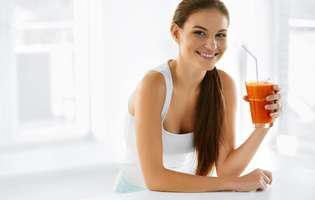 Sucul de morcovi te poate ajuta să scapi de anemie