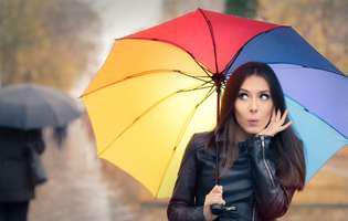 Cum să fii șic chiar și... când plouă?