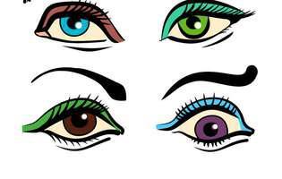 ochii si sprâncenele vorbesc despre viitorul partener