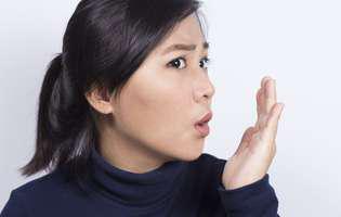 Halitoza poate fi un indicator al stării de sănătate