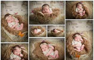 Maria Alessia Vilceloiu este copilul lunii septembrie