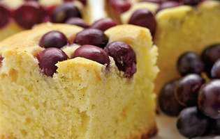 Prăjitură economică cu struguri