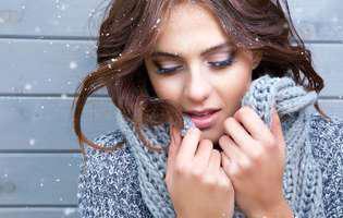 Pentru a preveni rozaceea protejează-ți fața de frig, folosind un fular sau o mască de ski