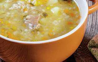 Supă de vită cu orez