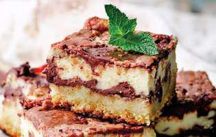prajitura-cu-branza-si-ciocolata