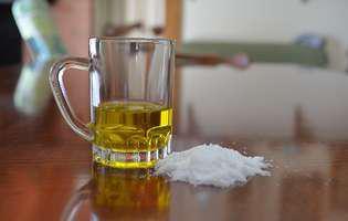 Sare și ulei, un remediu natural împotriva durerilor