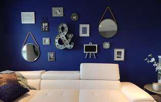 Culori îndrăznețe în locuință - indigoul! Idei de amenajare