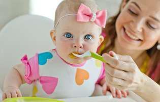 De ce refuză bebelușul hrana solidă. 6 trucuri pentru a face diversificarea mai ușoară