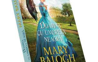 """""""Doamna cu umbrelă neagră"""" de Mary Balogh"""