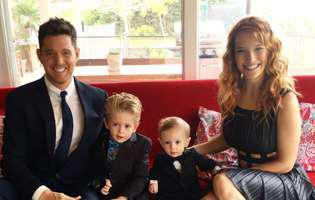 michael buble si familia