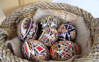 ouăle încondeiate din regiunea Ciocănești