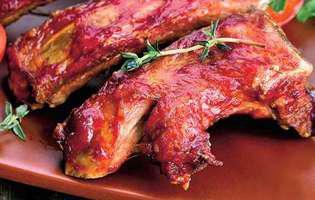 coaste de porc picante