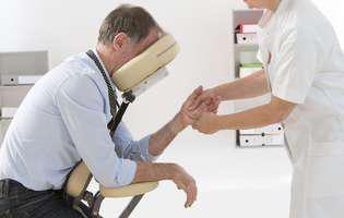 masajul în scaun