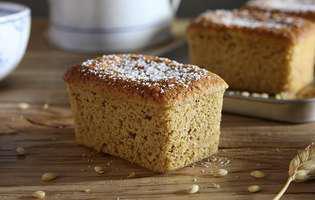 Gătește cu Lavazza: prăjitură cu orz