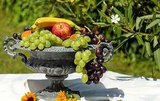 fructe, cos cu fructe
