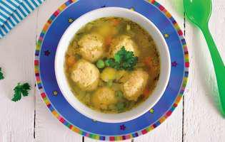 supa cu perisoare de pui