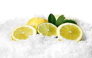 de ce să pui lămâile în congelator