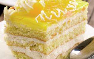 prăjitură cu cremă de brânză de vaci