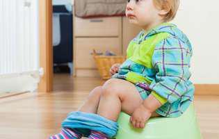 Cum îți înveți copilul să facă la oliță într-un weekend prelungit