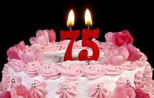 La 75 de ani