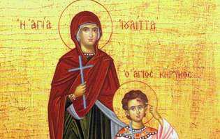 Sfinţii Chiric şi Iulița