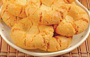 biscuiți de casă cu migdale