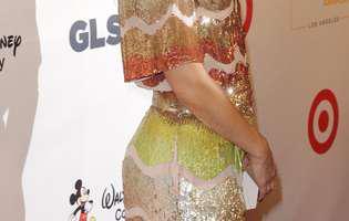 Kate Hudson a apărut rasă în cap