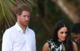 Bat clopotele de nuntă iar în familia regală. Iubita prințului Harry, surprinsă în timp ce proba rochii de mireasă