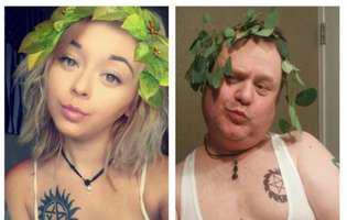 N-ai cum să nu râzi. Un tătic a vrut să-i dea o lecție fiicei lui care postează imagini sexy cu ea pe Instagram și a început să-i parodieze selfie-urile. Rezultatul e demențial