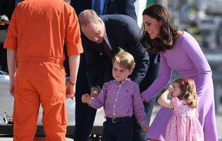 Kate Middleton și prințul William,  aspru criticați din cauza copiilor în turneul din Europa. Micul prinț George și prințesa Charlotte i-au supărat rău