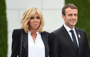 Emmanuel și Brigitte Macron au adoptat un câine. Cum arată noul membru al familiei prezidențiale