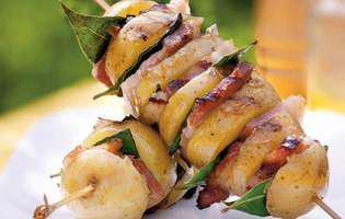 frigărui de cartofi cu porc