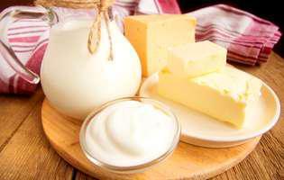 cum se păstrează produsele lactate la congelator