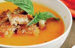 supă de morcovi cu lapte