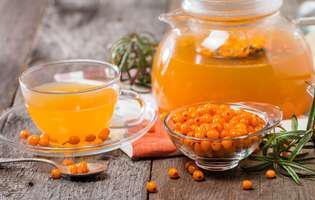 Cătina cu miere are beneficii incredibile asupra sistemului imunitar