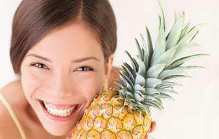 ananasul are beneficii uimitoare dar și mulți carbohidrați