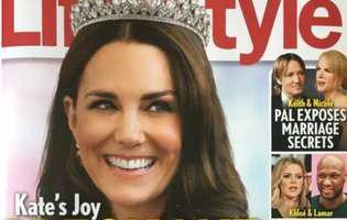 copertă prințesa Kate însărcinată