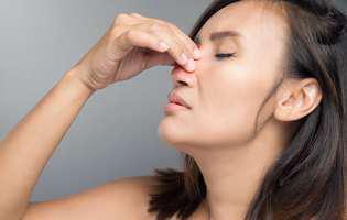 polipii în nas