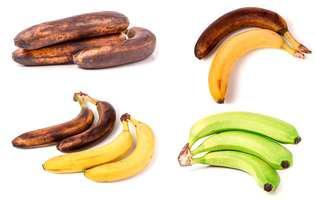 Banane coapte sau verzi? Ceea ce alegi îți poate influența sănătatea, în bine sau în rău!