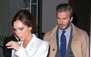 David Beckham și Victoria au probleme în mariaj. Fostul fotbalist, surprins cu o altă femeie