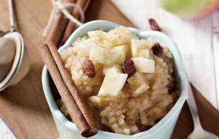 rețetă de orez cu mere