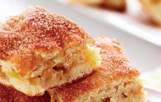 rețetă de plăcintă cu mere și scorțișoară