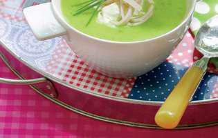 rețetă de supă de castraveți cu piept de pui